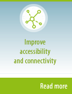 Improve accessibility and connectivity