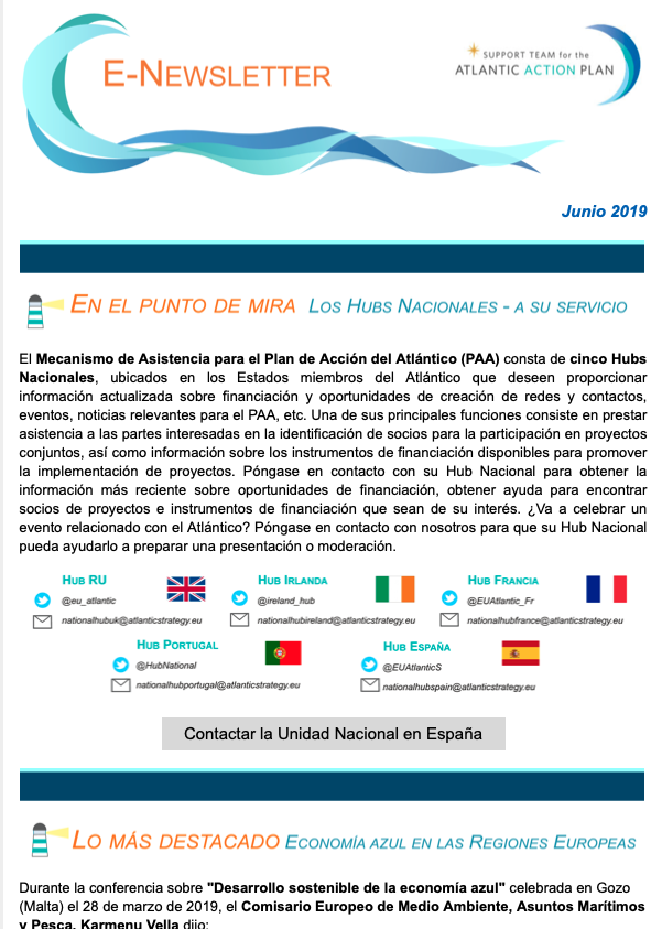Newsletter 07: Junio 2019